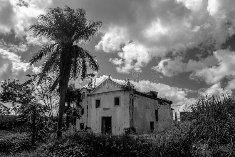 Iglesia perdida foto de archivo