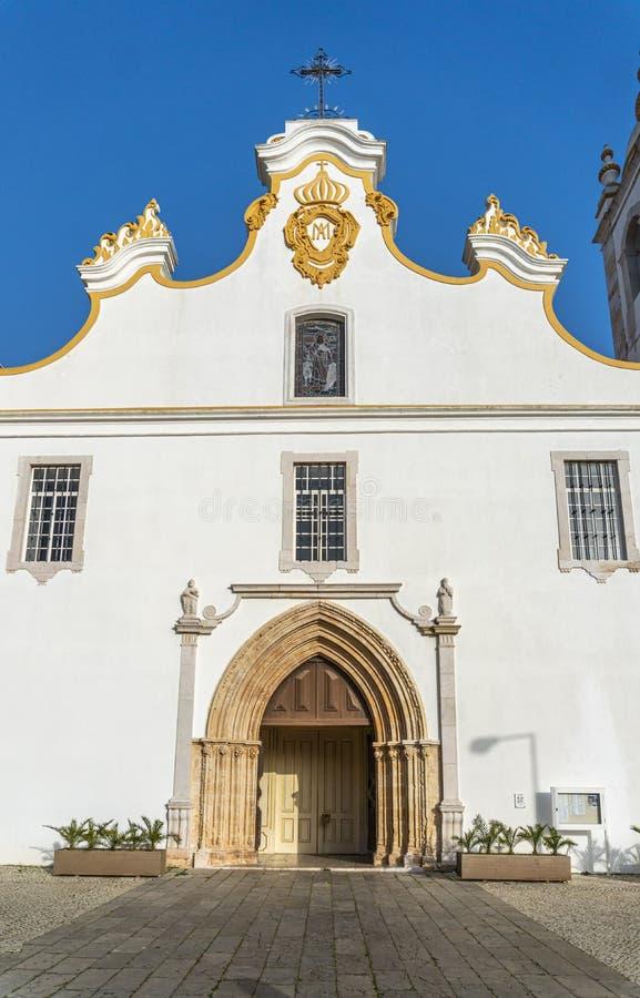 Iglesia Principal de Portimao, Portugal imágenes de archivo libres de regalías
