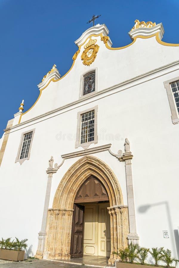 Iglesia Principal de Portimao, Portugal fotos de archivo
