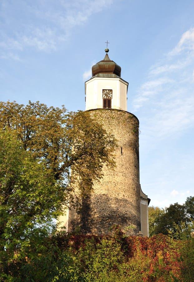 Iglesia, pueblo - Zulova fotos de archivo libres de regalías
