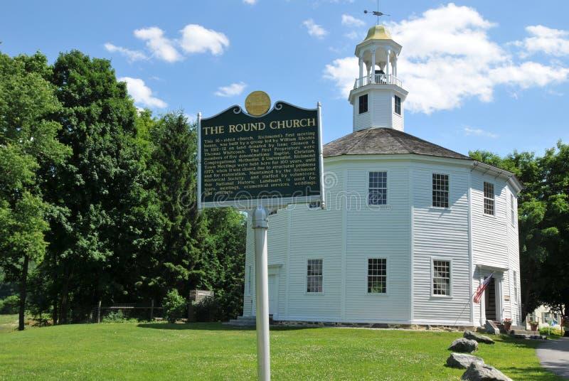Iglesia redonda foto de archivo libre de regalías
