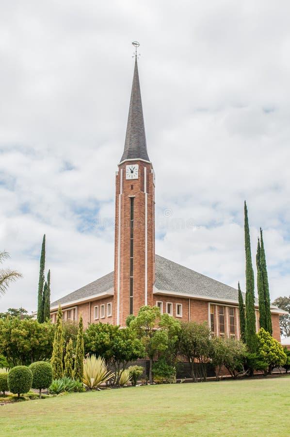 Iglesia reformada holandés, oeste de Riversdale foto de archivo