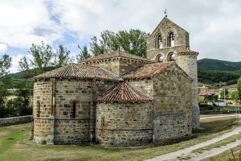 Iglesia Románica imagen de archivo libre de regalías