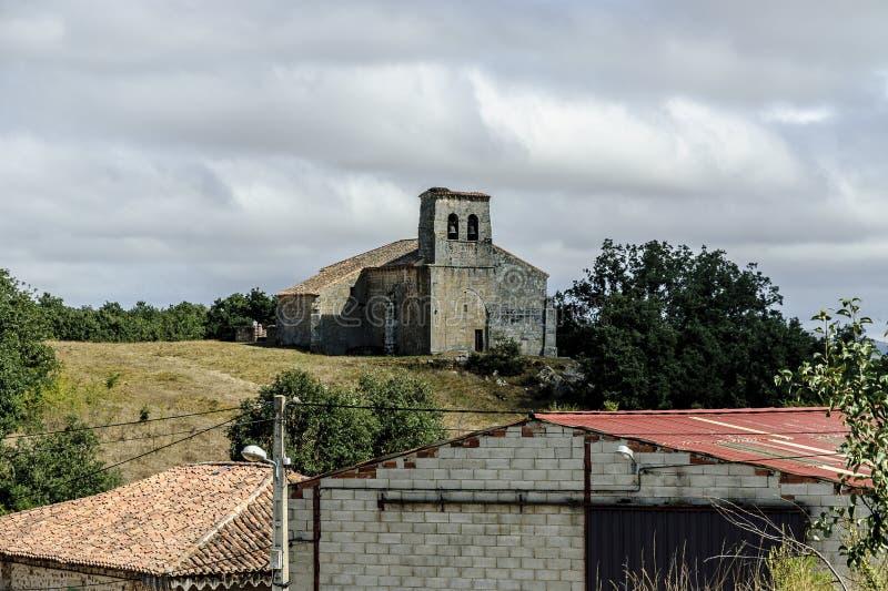 Iglesia Románica fotos de archivo
