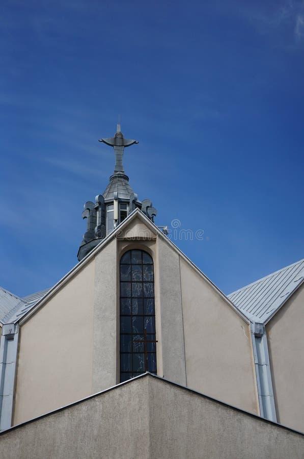 Iglesia roof foto de archivo libre de regalías