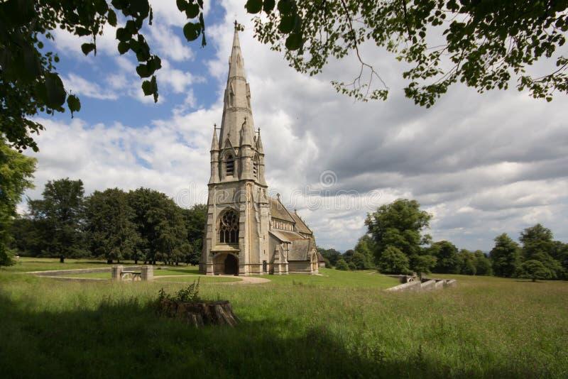 Iglesia rural foto de archivo