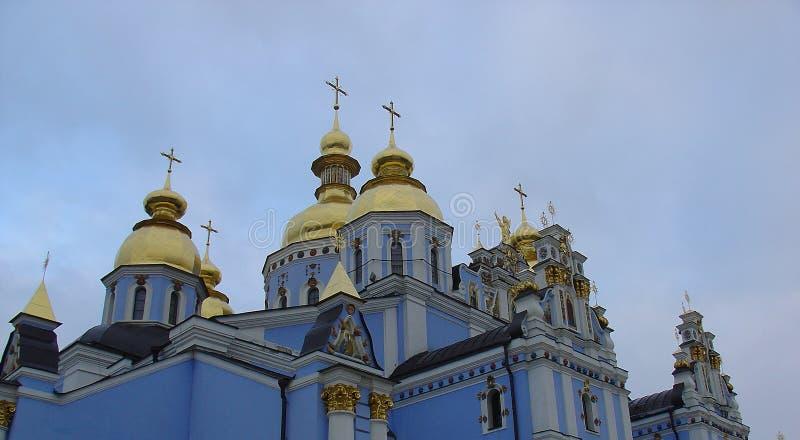Iglesia Rusa Azul Foto de archivo