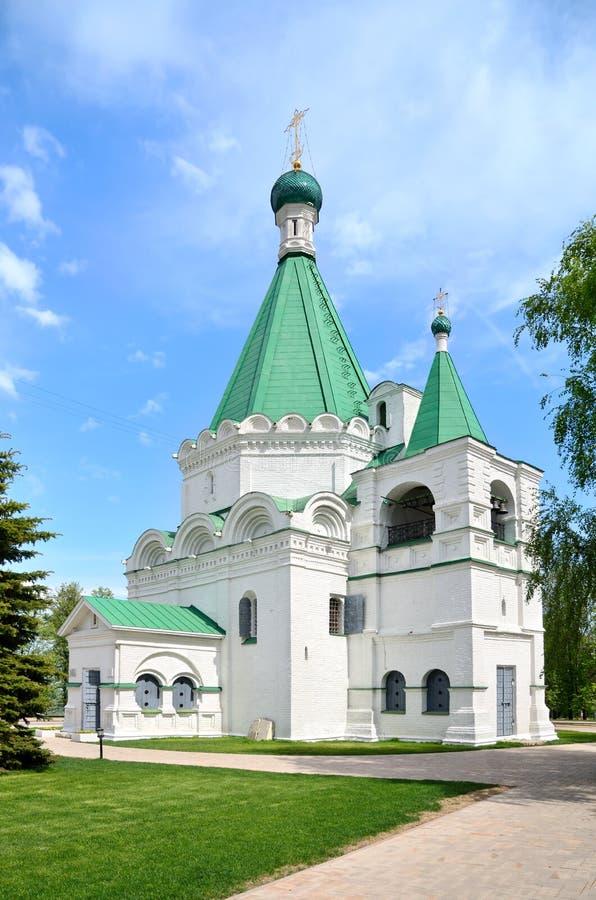 Iglesia rusa vieja foto de archivo