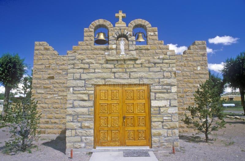 Iglesia sagrada y misión, Quemado, nanómetro del corazón imagenes de archivo