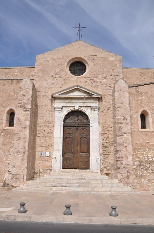 Iglesia Saint Laurent, Marsella, Francia fotos de archivo libres de regalías