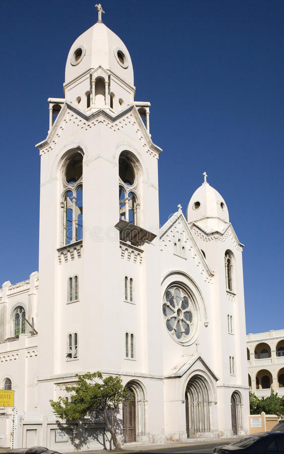 Iglesia San Agustin fotografie stock