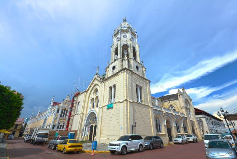 Iglesia San Francisco de Asis, San Felipe, Panama immagini stock libere da diritti