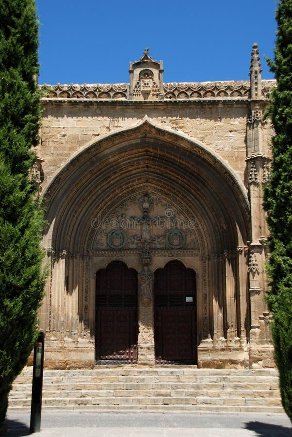 Iglesia San Pablo, Ubeda, Spain. imagem de stock royalty free