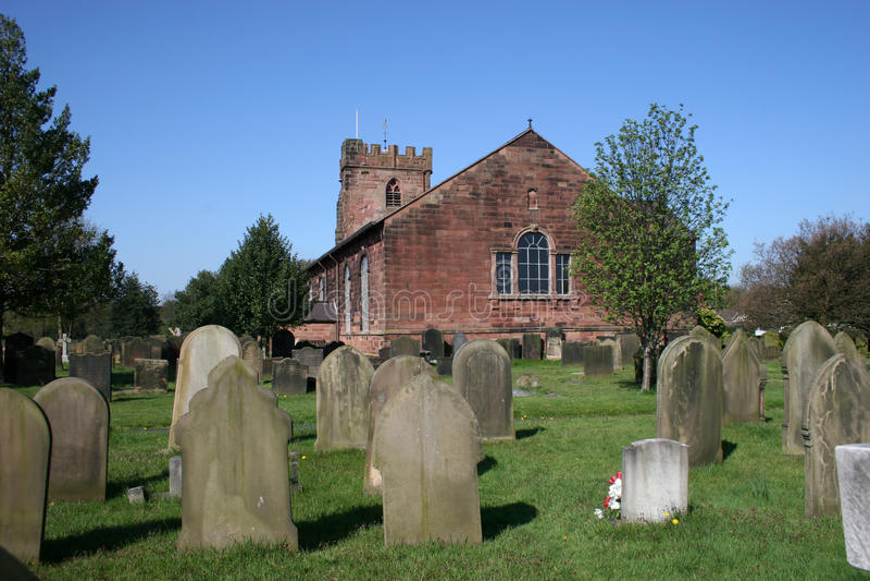 Iglesia sana, Liverpool imagenes de archivo