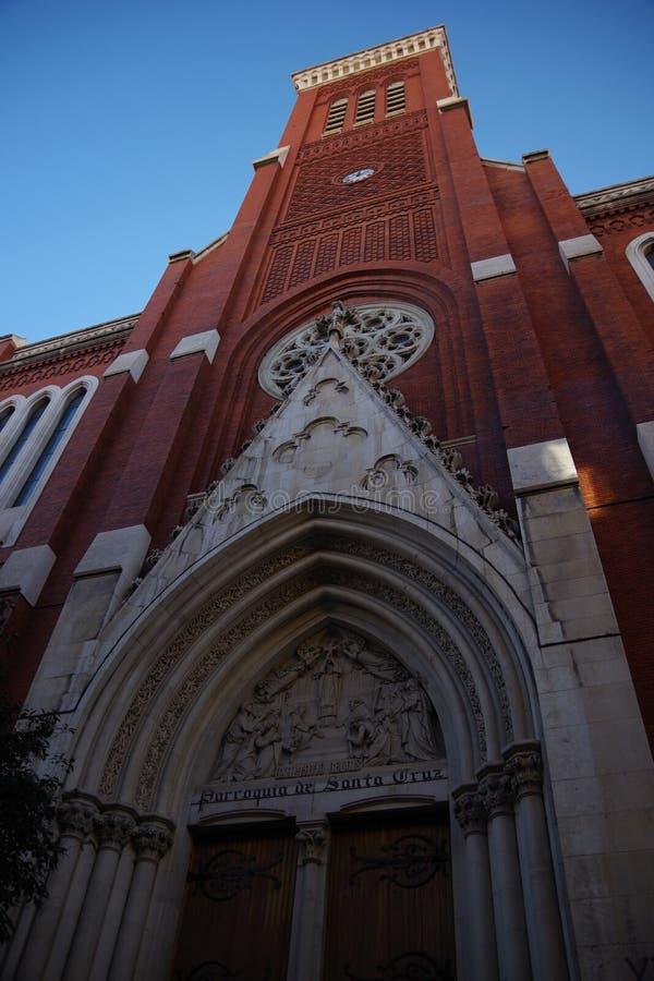Iglesia Santa Cruz, Madrid, Spagna fotografia stock libera da diritti