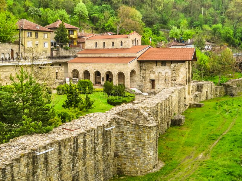 Iglesia santa de cuarenta mártires, Veliko Tarnovo, Bulgaria fotos de archivo