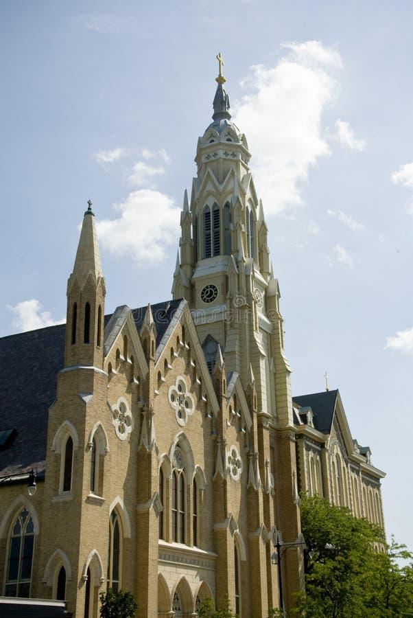Iglesia santa de la familia, Chicago foto de archivo