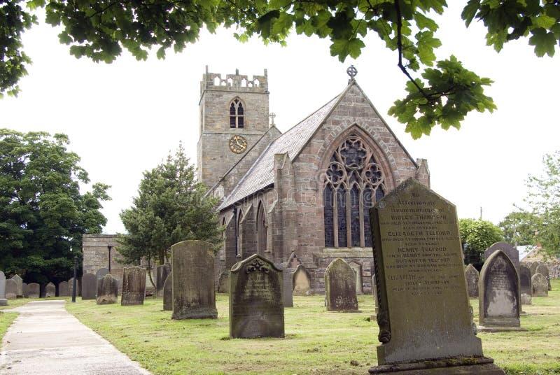 Iglesia santa Embleton de Trinty imágenes de archivo libres de regalías