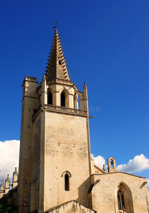 Iglesia santa Tarascon de Martha fotos de archivo