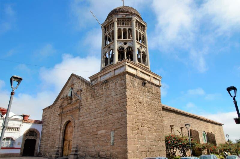 Iglesia Santo Domingo en el La Serena, Chile fotografía de archivo libre de regalías