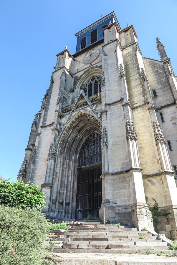 Iglesia Santo-Jacques en Lisieux fotografía de archivo