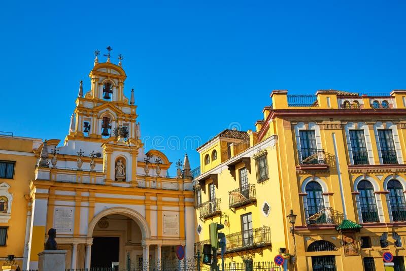 Iglesia Sevilla de Sevilla Basilica de la Macarena fotografía de archivo libre de regalías