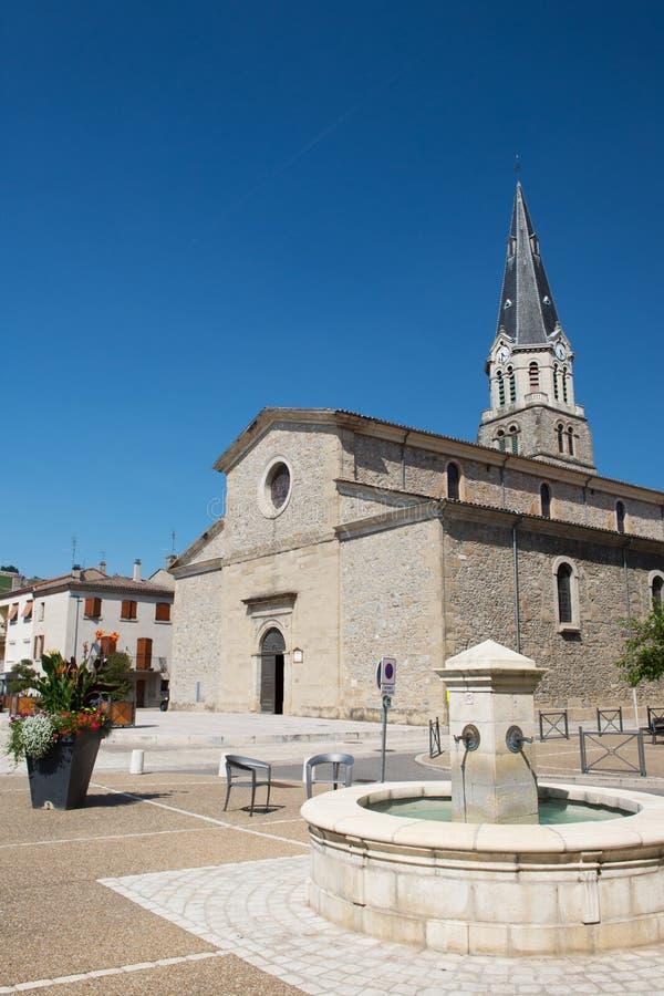 Iglesia Tournon en Francia fotos de archivo libres de regalías