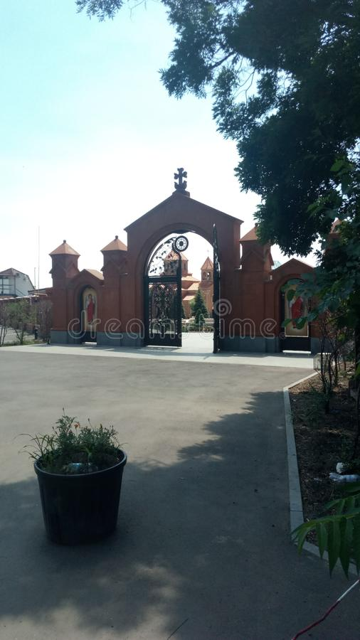 Iglesia Ucrania, Odessa foto de archivo libre de regalías