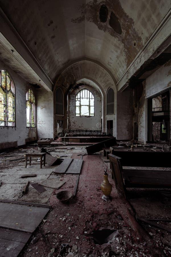 Iglesia unida de Cristo de los hermanos - McKeesport, Pennsylvania fotografía de archivo