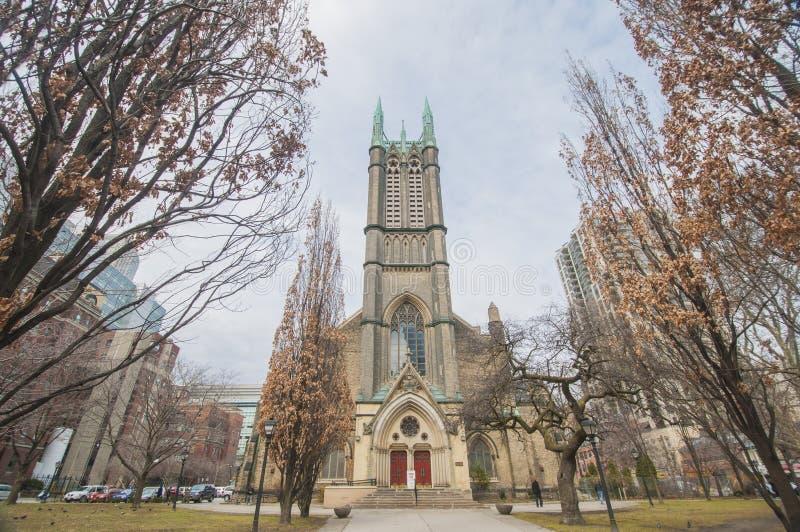 Iglesia unida metropolitano en Toronto, Canadá imagen de archivo libre de regalías