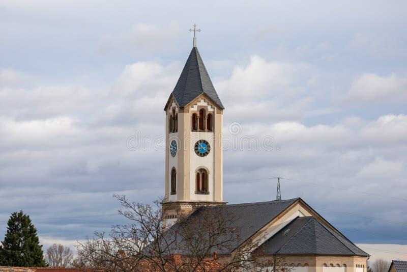 Iglesia vieja bulding en Frankenthal Alemania fotos de archivo libres de regalías