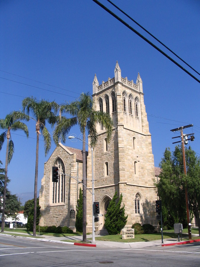 Iglesia vieja California imagenes de archivo