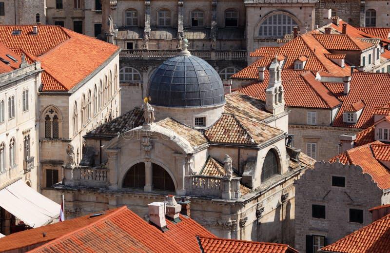 Iglesia vieja en Dubrovnik foto de archivo libre de regalías