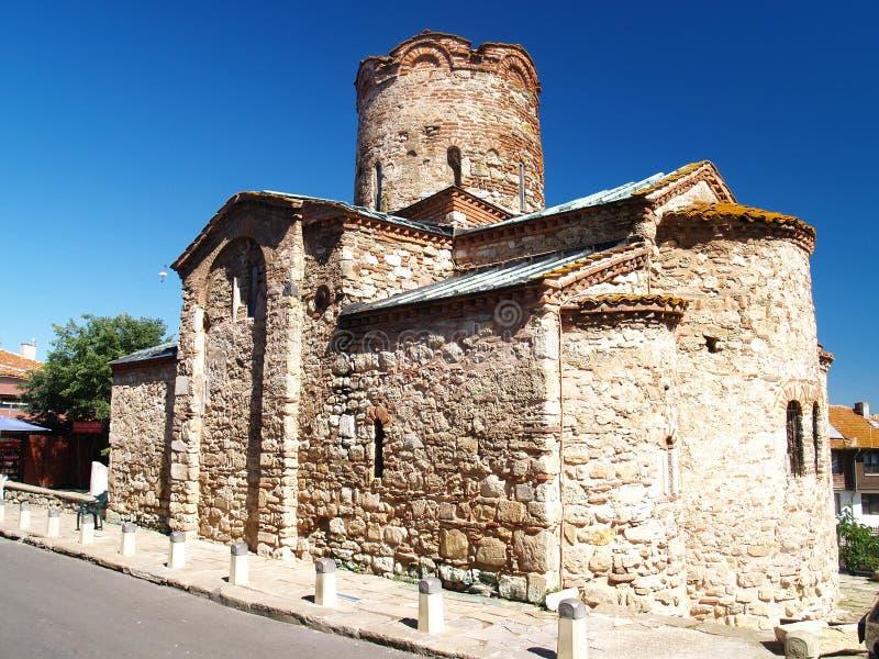 Iglesia vieja en Nessebar imagenes de archivo