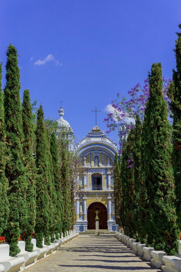 Iglesia vieja en Ocotlan de Morales imágenes de archivo libres de regalías