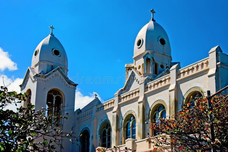 Iglesia vieja en Puerto Rico fotografía de archivo libre de regalías