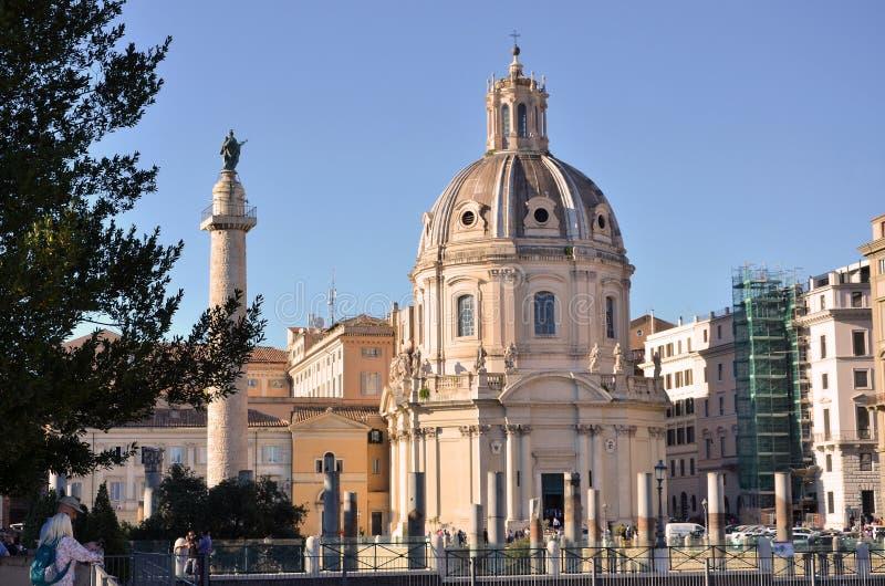 Iglesia vieja en Roma fotos de archivo libres de regalías