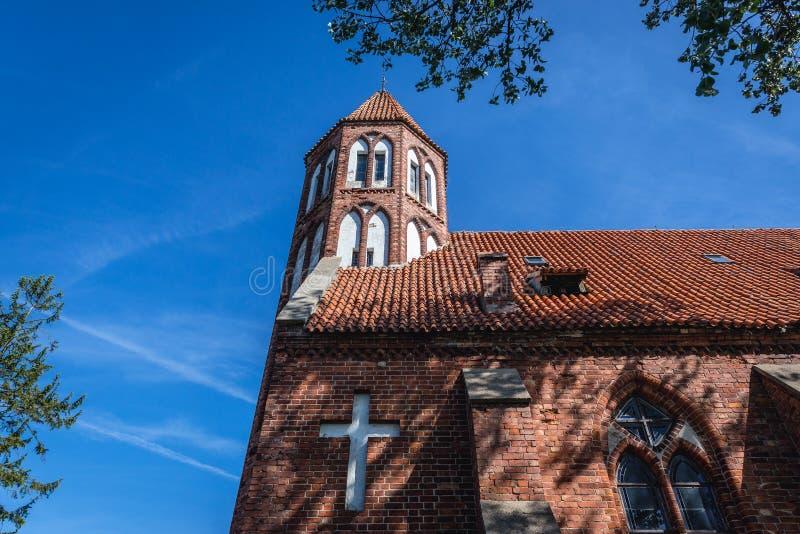 Iglesia vieja en Stezyca foto de archivo libre de regalías