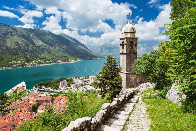 Iglesia vieja, Kotor fotos de archivo libres de regalías