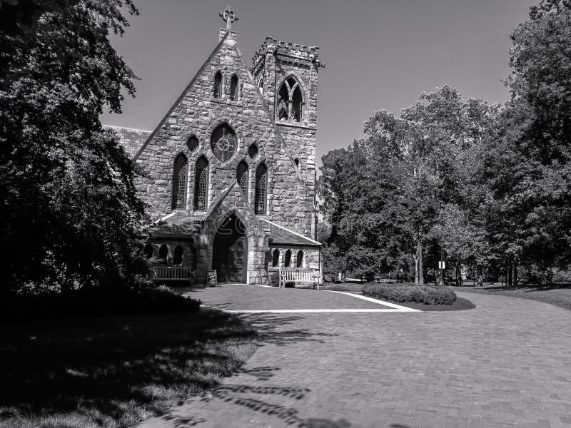 Iglesia vieja @ VA, los E.E.U.U. foto de archivo