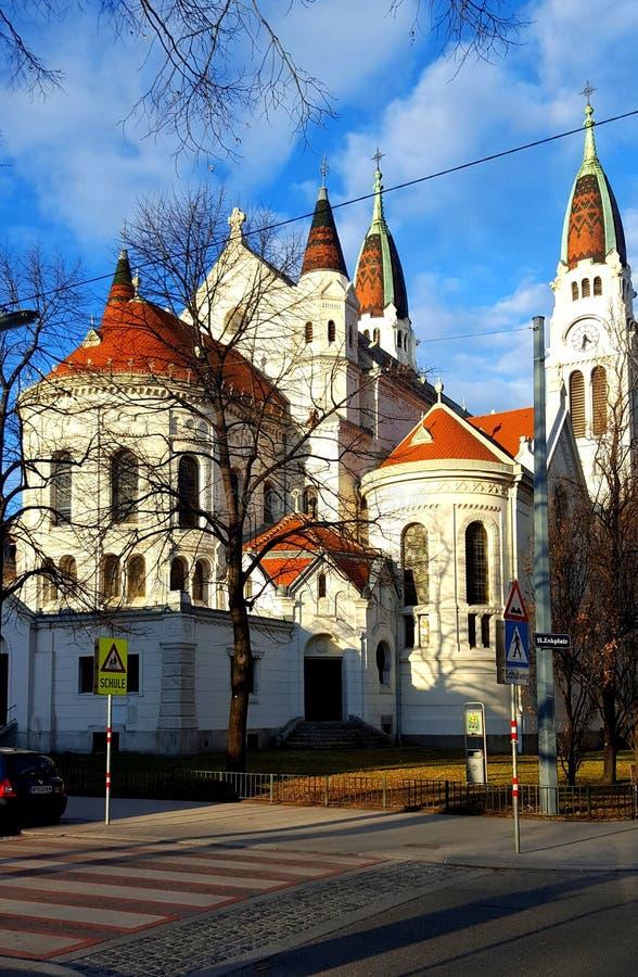 Iglesia Viena fotografía de archivo