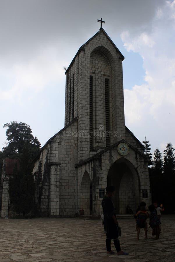 Iglesia vietnamita imágenes de archivo libres de regalías
