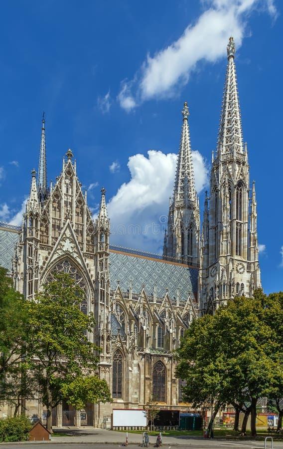 Iglesia votiva, Viena imágenes de archivo libres de regalías