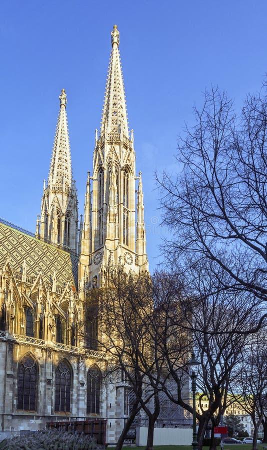 Iglesia votiva, Viena imagenes de archivo
