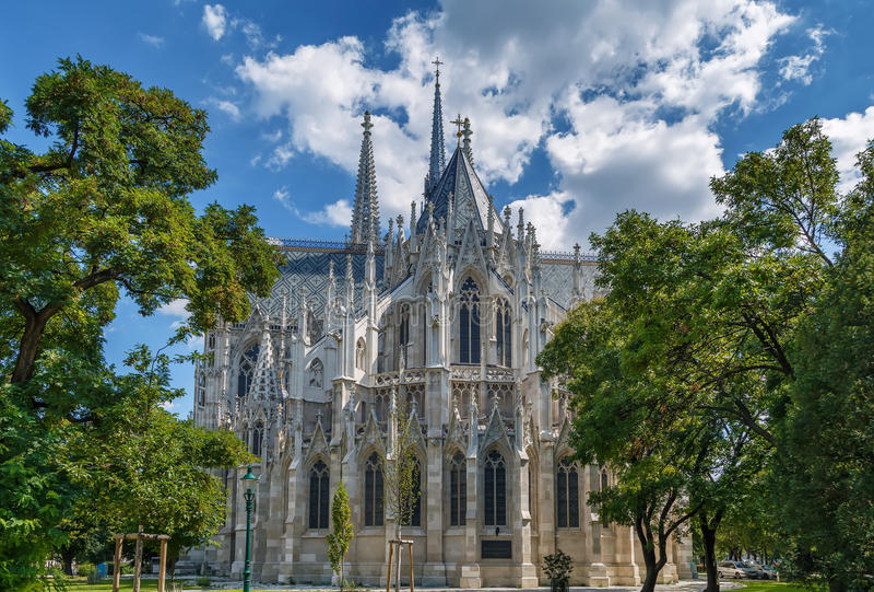 Iglesia votiva, Viena imagen de archivo libre de regalías