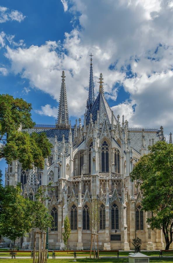 Iglesia votiva, Viena fotos de archivo