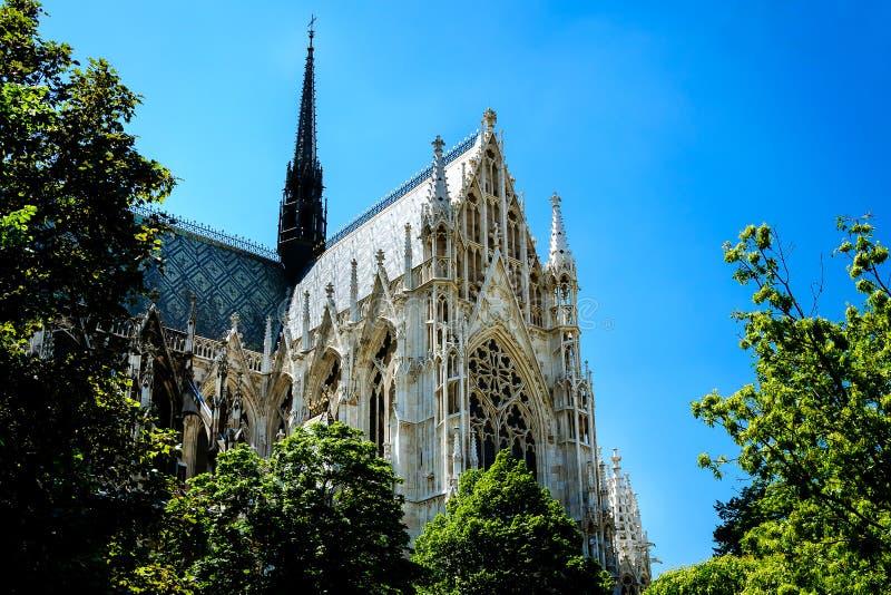 Iglesia votiva, Viena, Austria imágenes de archivo libres de regalías
