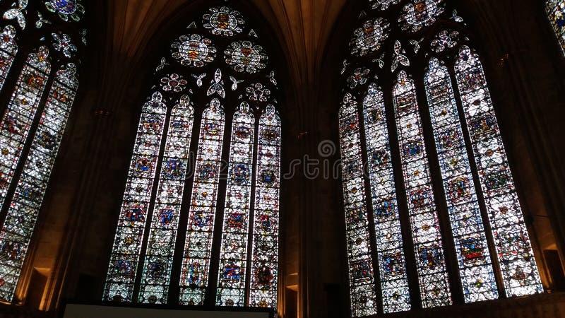 Iglesia Windows foto de archivo