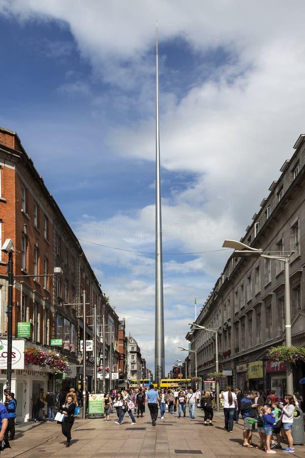 Iglica Dublin, Dublin, Irlandia - zdjęcia stock