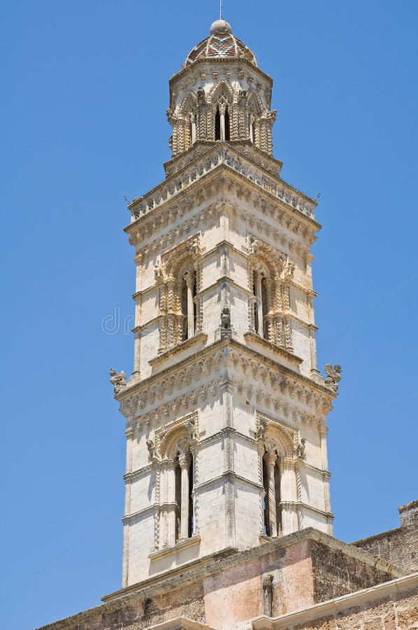 Iglica Raimondello. Soleto. Puglia. Włochy. zdjęcia stock